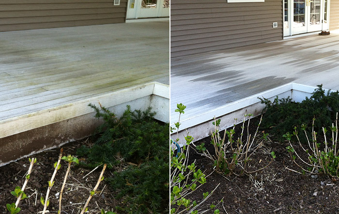 Bright solutions prowash powerwashing services in the for Patio cleaning solution